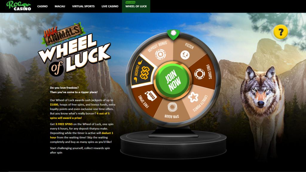 Roo Casino wheel of luck 1024x576 Top Guidelines Of Roo Casino No Deposit Bonus 2021   Online Casino: Review ...
